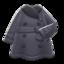 Pleather Trench Coat