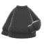 Simple Knit Sweater (Black) NH Icon.png