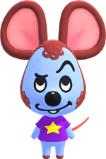 Artwork of Moose the Mouse