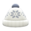 Snowy Knit Cap (White) NH Icon.png