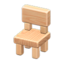Wooden-Block Chair