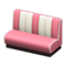 Diner Sofa (Pink) NH Icon.png