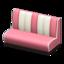 Diner Sofa (Pink)