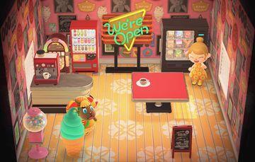 Interior of Frita's house in Animal Crossing: New Horizons