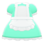 Maid Dress (Mint) NH Icon.png