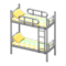 Bunk Bed (Silver - Colorful Lines) NH Icon.png
