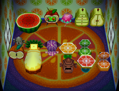 Tangy's house interior