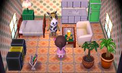 Winnie's house interior