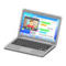Laptop (Silver - Chat Tool) NH Icon.png