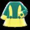 Retro A-Line Dress (Yellow) NH Icon.png