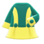 Retro A-Line Dress (Yellow) NH Icon.png