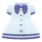 Sailor-Collar Dress (White) NH Icon.png