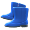Velour Boots (Blue) NH Icon.png