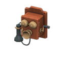 Antique Phone (Brown) NH Icon.png