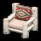 Log Chair (White Birch - Southwestern Flair) NH Icon.png