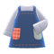 Mom's Handmade Apron (Denim) NH Icon.png
