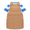 Overall Dress (Beige) NH Icon.png