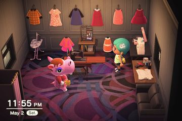 Interior of Bitty's house in Animal Crossing: New Horizons