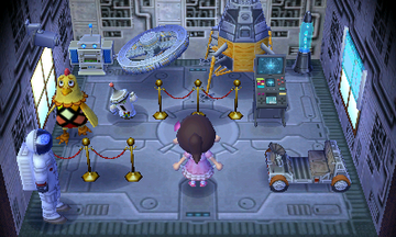 Interior of Egbert's house in Animal Crossing: New Leaf