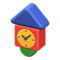 Wooden-Block Wall Clock (Colorful) NH Icon.png