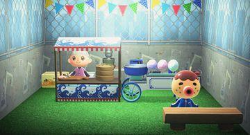 Interior of Zucker's house in Animal Crossing: New Horizons