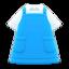 Apron (Light Blue) NH Icon.png