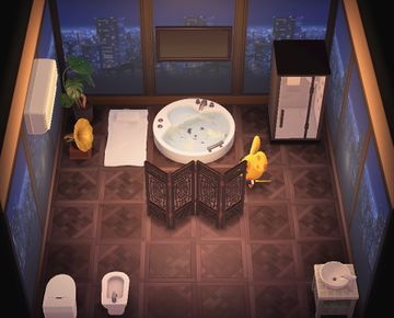 Interior of Chadder's house in Animal Crossing: New Horizons