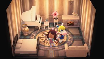 Interior of Colton's house in Animal Crossing: New Horizons