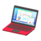 Laptop (Red - Calculations) NH Icon.png