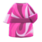 Marble-Print Dress (Pink) NH Icon.png