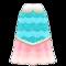 Mermaid Fishy Dress (Light Blue) NH Icon.png