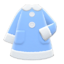 Terry-Cloth Nightgown (Light Blue) NH Icon.png