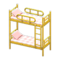 Bunk Bed (Yellow - Checkered) NH Icon.png