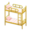 Bunk Bed (Yellow - Checkered)