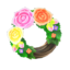 Fancy Rose Wreath