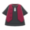 Gilet and Shirt (Red) NH Icon.png