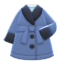 Gown Coat (Blue) NH Icon.png