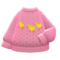 Mom's Hand-Knit Sweater (Chicks) NH Icon.png