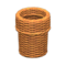 Rattan Waste Bin (Reddish Brown) NH Icon.png