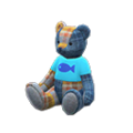 Baby Bear (Tweed - Fish) NH Icon.png