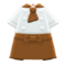 Chef's Outfit (Brown) NH Icon.png
