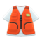 Fishing Vest (Orange) NH Icon.png