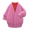Long Chenille Cardigan (Pink) NH Icon.png