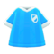 Soccer-Uniform Top (Light Blue) NH Icon.png