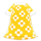 Blossom Dress (Yellow) NH Icon.png