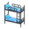 Bunk Bed (Black - Space) NH Icon.png