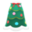 Festive-Tree Dress (Green & White) NH Icon.png
