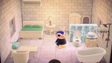 Interior of Friga's house in Animal Crossing: New Horizons