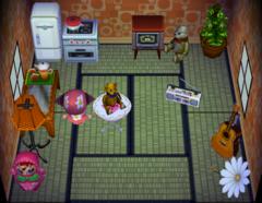 Tutu's house interior