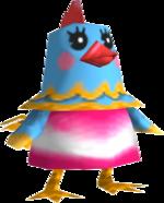 Artwork of Rhoda the Chicken